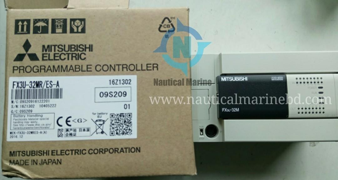 Mitsubishi FX3U-32M Logic Control Module | Nauticalmarinebd